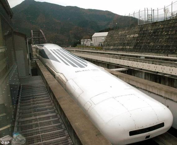 Japonlar hızlı trende sınırları zorluyor - Page 1