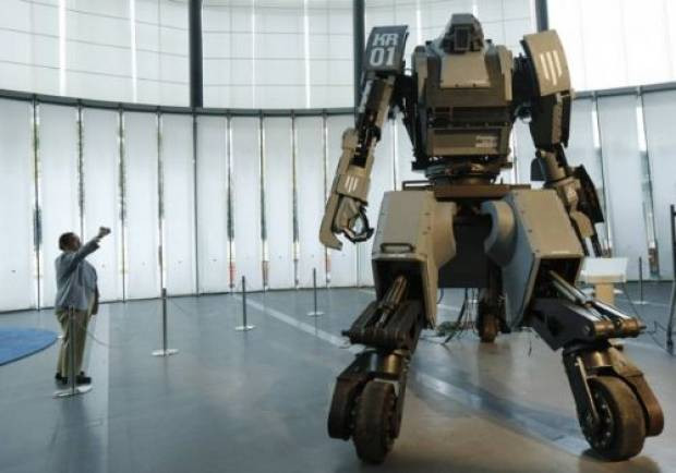 Japonlardan devasa robot! - Page 2