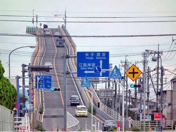 Japonya'daki bu köprü Lunaparklara taş çıkartıyor! - Page 1