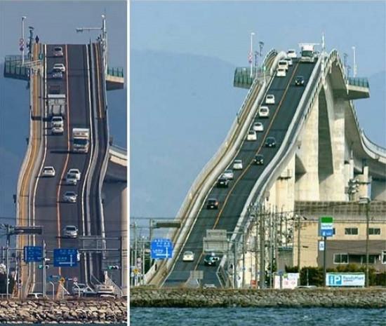 Japonya'daki bu köprü Lunaparklara taş çıkartıyor! - Page 3