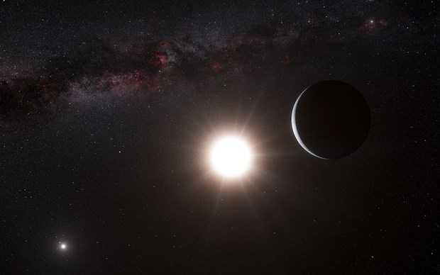 """Jupiter'den iki kat büyük """"siyah"""" bir gezegen bulundu - Page 1"""