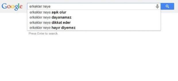 Kadın ve erkekler Google ne soruyor? - Page 2