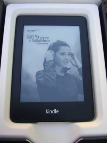 'Kağıt ' gibi tablet Kindle PaperWhite! - Page 1