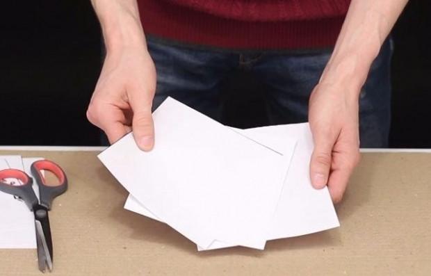 Kağıttan bıçak yaptı bakın neler kesti! - Page 2