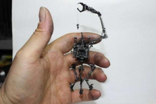 Kalemlerden heykeller büyülüyor - Page 3