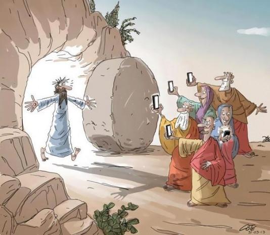Karikatürlerle akıllı telefonun insanoğlunu esir alışı - Page 1