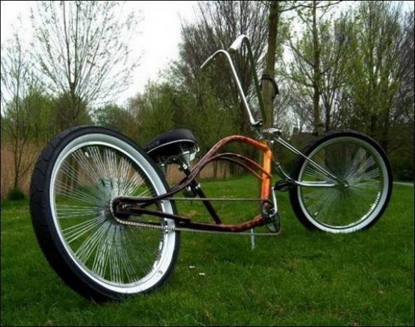 Karşınızda en sıradışı bisiklet tasarımları - Page 4