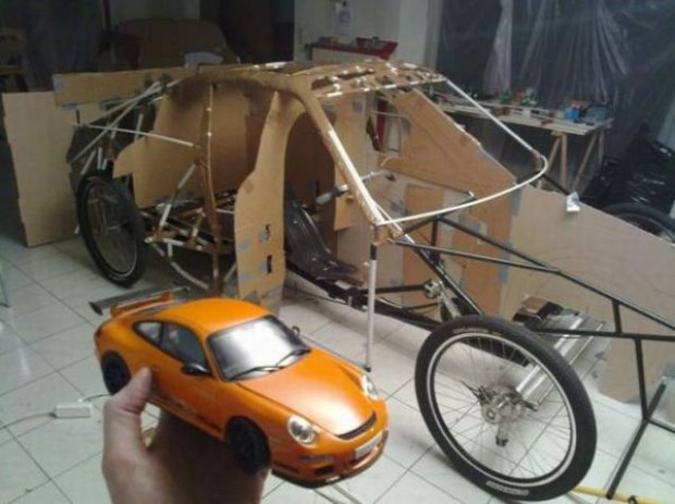 Karşınızda  Porsche görünümlü bisiklet! - Page 2