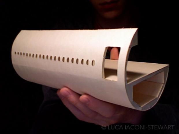 Karton dosya ve kağıttan  Boeing 777 kopyası yaptı - Page 3