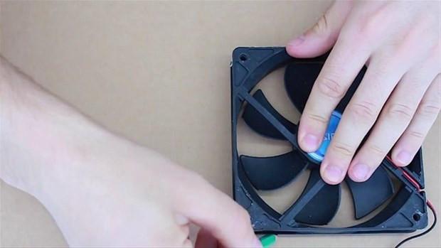 Karton kutu, fan ve çubuklarla yapabileceğiniz klima - Page 2