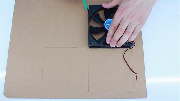 Karton kutu, fan ve çubuklarla yapabileceğiniz klima - Page 4