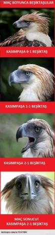 Kasımpaşa-Beşiktaş maçının Caps'leri - Page 1