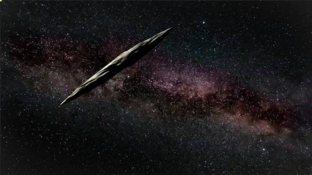 Keşfedilen ilk yıldızlararası gök cismi Oumuamua - Page 1