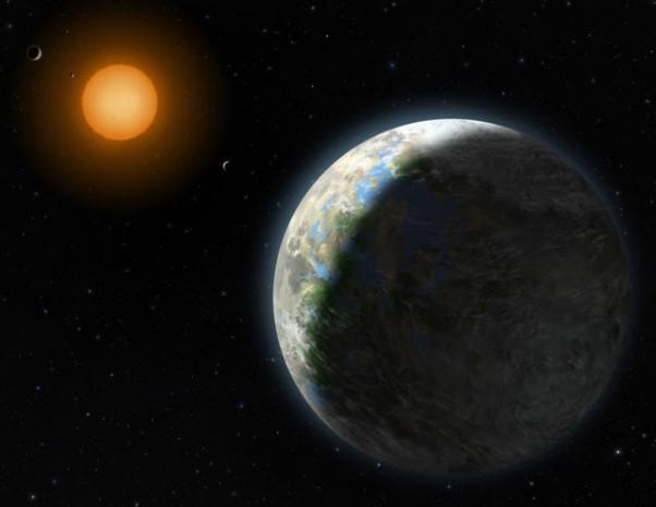 Keşfedilen yeni gezegen dünyanın tam 5 katı büyüklüğünde - Page 1