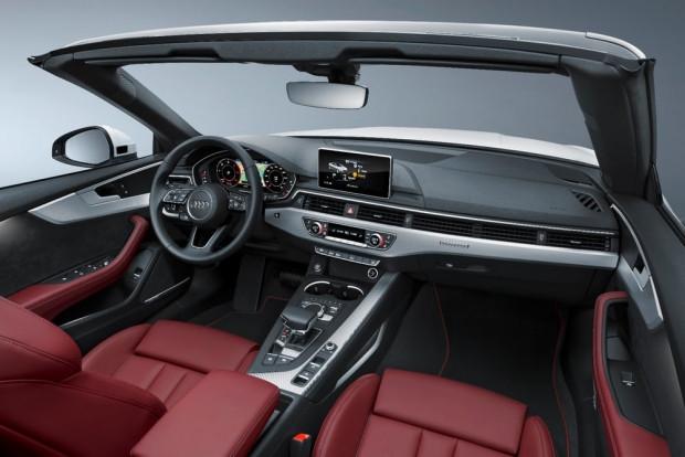 Keskin tasarımıyla Audi A5 Cabriolet - Page 1