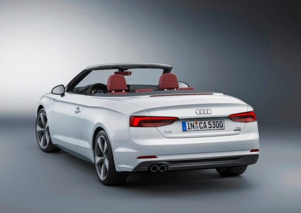 Keskin tasarımıyla Audi A5 Cabriolet - Page 3