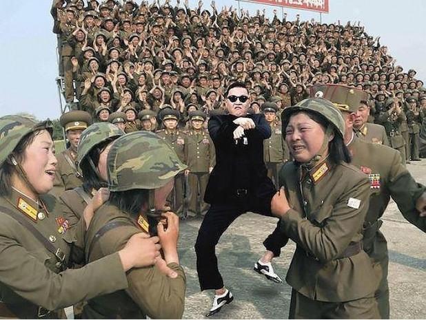 Kim Jong Un'un kadın askerlerle çekilen fotosuyla ilgili yapılmış en komik 17 Photoshop çalışması - Page 2