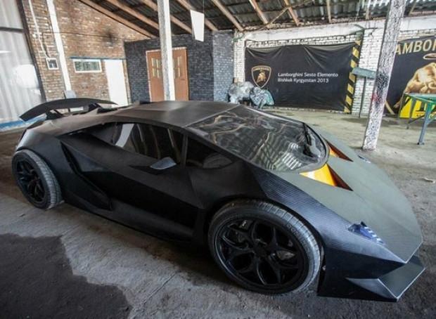 Kırgızlı gençler Lamborghini Sesto Elemento'larını üretti - Page 1