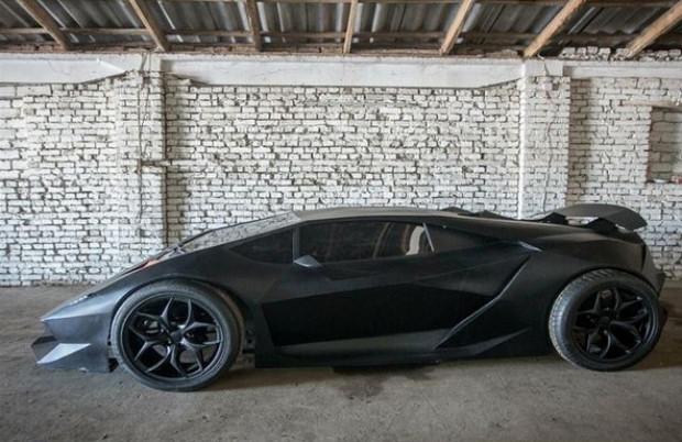 Kırgızlı gençler Lamborghini Sesto Elemento'larını üretti - Page 2