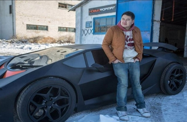 Kırgızlı gençler Lamborghini Sesto Elemento'larını üretti - Page 3