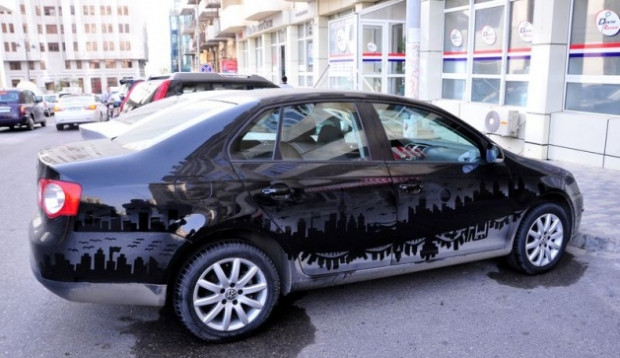 Kirli arabalara muhteşem çözüm! - Page 1