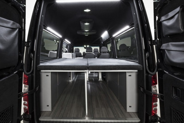 Macera arayanlara Mercedes Sprinter Vansports Camper - Page 2