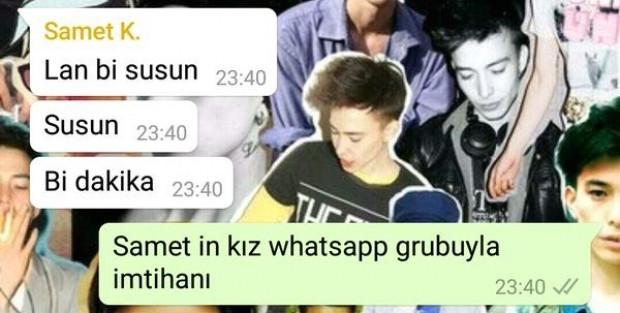 Kızların Whatsapp konuşmaları - Page 1