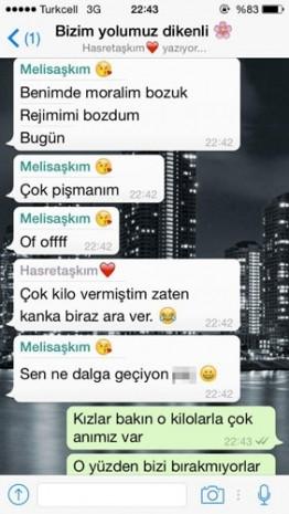Kızların Whatsapp konuşmaları - Page 2