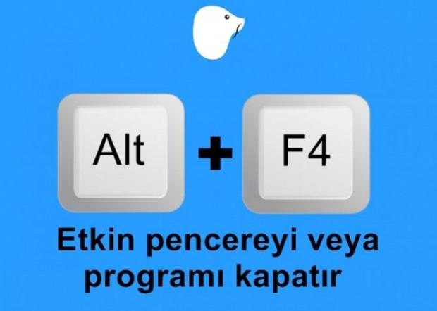 Klavye kullanımında kolaylık sağlayacak 10 kısayol tuşu - Page 4