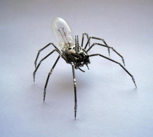 Kol saatinden mekanik böcek yapıyor - Page 2