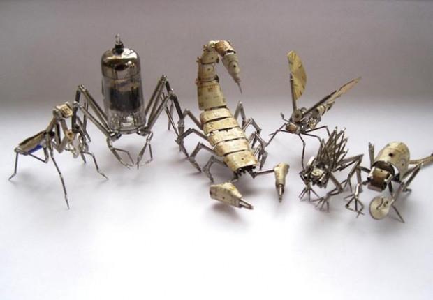 Kol saatinden mekanik böcek yapıyor - Page 3