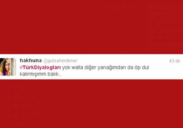 Komik Türk diyalogları Twitter'ı  salladı - Page 1