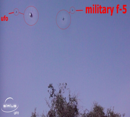 Köylü değil bu sefer F-5 savaş uçağı, UFO kovaladı! - Page 1