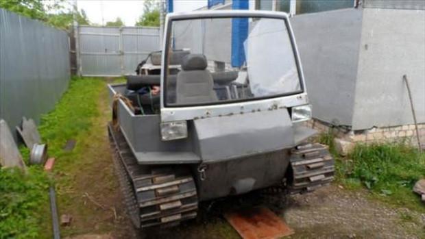 Kullanılmayan malzemelerden tank yaptı - Page 2