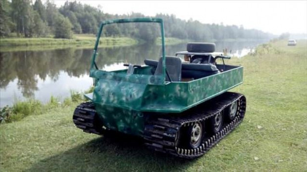 Kullanılmayan malzemelerden tank yaptı - Page 3