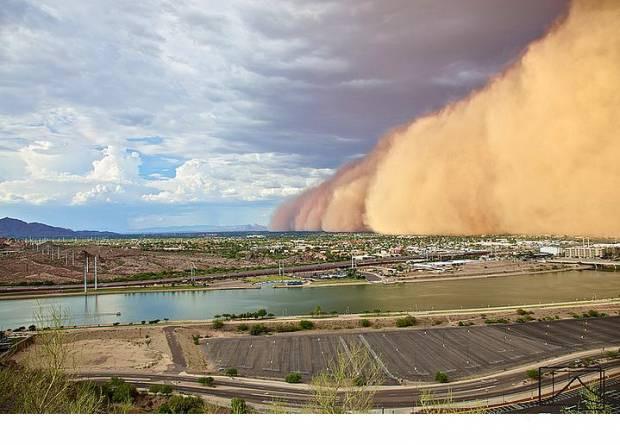 Kum fırtınalarının dehşet veren görüntüleri - Page 2