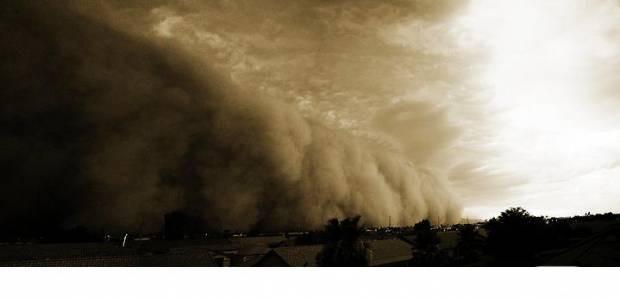 Kum fırtınalarının dehşet veren görüntüleri - Page 3