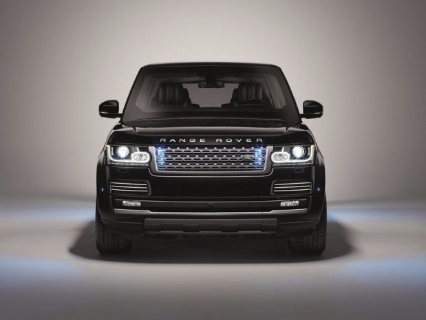Kurşun geçirmez Range Rover Sentinel - Page 1