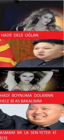 Kuzey Kore lideri Kim Jong-un komik Caps'leri - Page 2