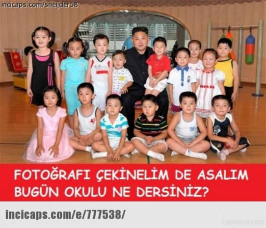 Kuzey Kore'nin lideri Kim Jong-un komik Caps'leri - Page 2