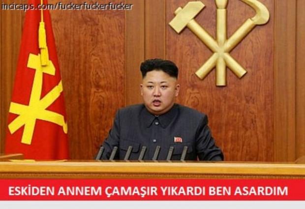 Kuzey Kore'nin lideri Kim Jong-un komik Caps'leri - Page 4