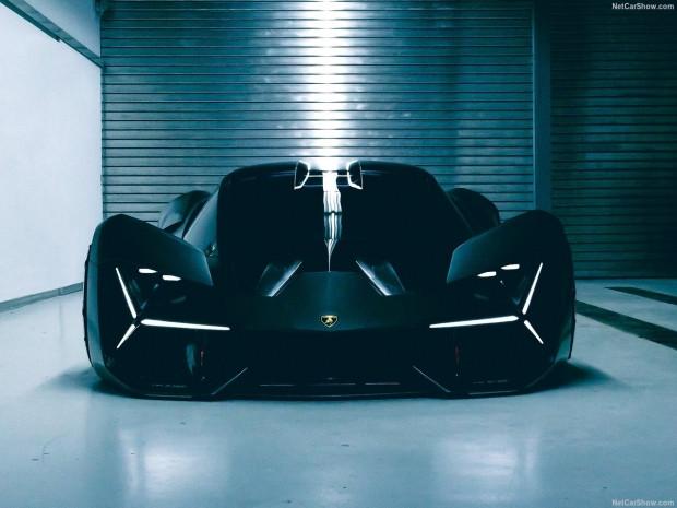 Lamborghini elektrikli süper spor otomobili Terzo Millennio - Page 1