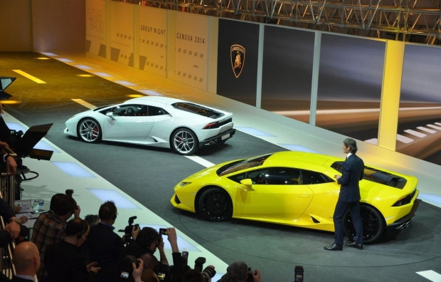 Lamborghini Huracan'ın nefes kesen tanıtımı! - Page 4