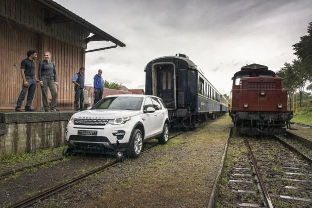 Land Rover Discovery Sport 100 tonluk treni çekerek gücünü kanıtladı - Page 4