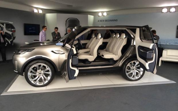 Land Rover Discovery vizyon kavramı! - Page 1