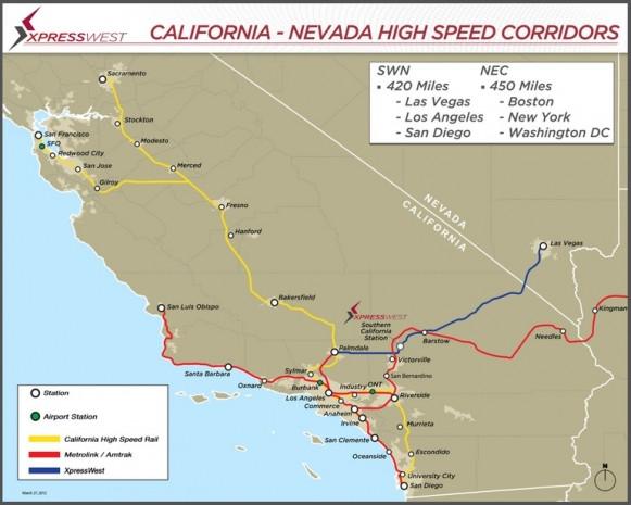 Las Vegas'ın yeni hızlı treni - Page 1