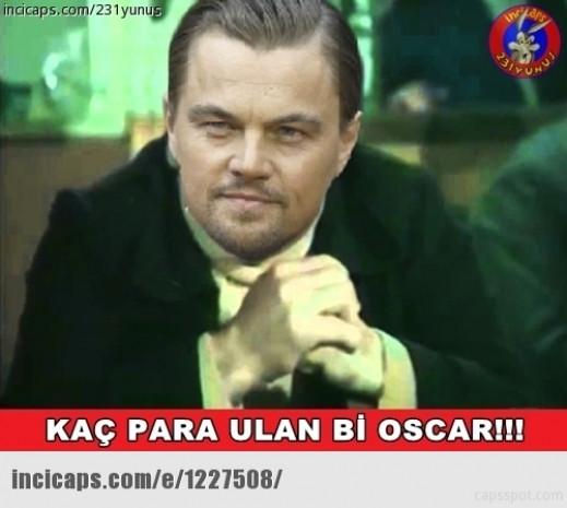Leonardo DiCaprio'ye Oscar yok capsleri - Page 1