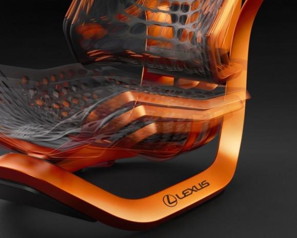 Lexus'un Kinetik Koltuk isimli yeni konsepti - Page 2
