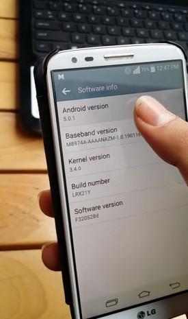 LG G2 için Android 5.0 Lollipop güncellemesi başladı - Page 1