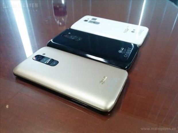 LG G2'de altın renk modasına uydu! - Page 1